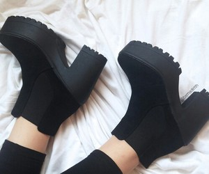 black, style, and boots image