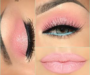 colors, eyes, and make up image