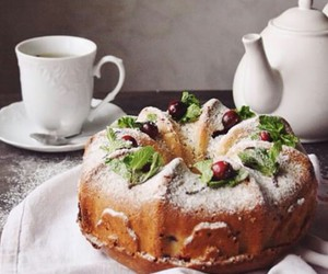 biscuit, food, and tea image