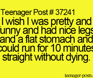 teenager post, funny, and pretty image