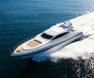 foam, sea, and yacht image