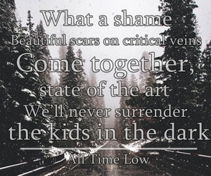 all time low, band, and edit image