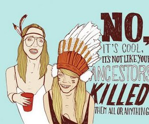 face paint, indie, and native american image