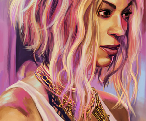beyoncé, art, and queen bey image