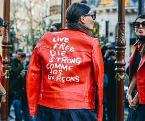 street style, comme des garcons, and fashion image
