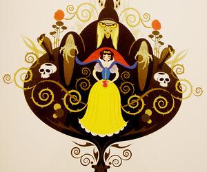 illustration, snow white, and snowhite image