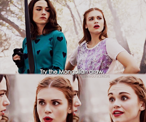 teen wolf, lydia martin, and allison image