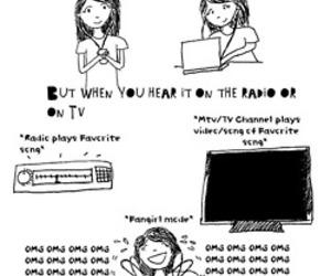 ipod, music, and computer image