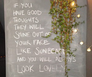 quotes, lovely, and shine image