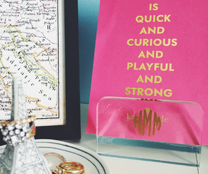 decor, desk, and kate spade image