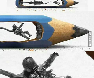 art, pencil, and awesome image