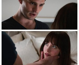 christian grey, love, and fifty shades of grey image