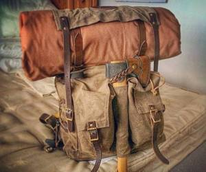 backpack and travel image