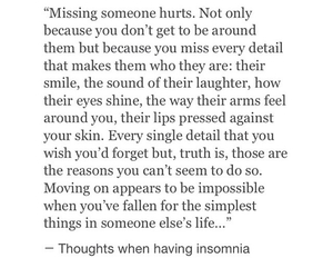 because, hurts, and impossible image