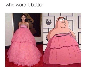 dress, funny, and lol image