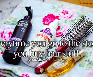 hair, hair stuff, and just girly things image