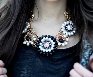 fashion, necklace, and beautiful image