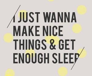 nicethings, true, and sleep image