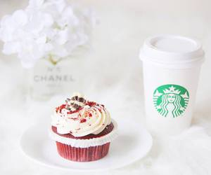 cupcake, food, and starbucks image