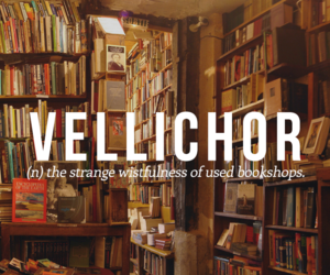 words, book, and vellichor image