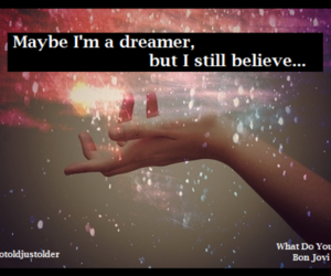 dreamer, hope, and text image