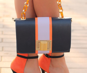 black, bags, and gold image