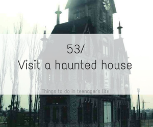 ghost, haunted, and house image