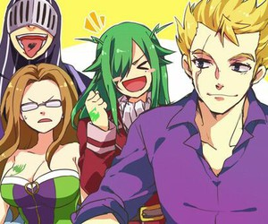 fairy tail, evergreen, and laxus image