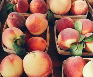 delicious, food, and peaches image