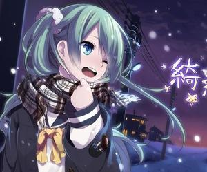 vocaloid, anime girl, and miku image