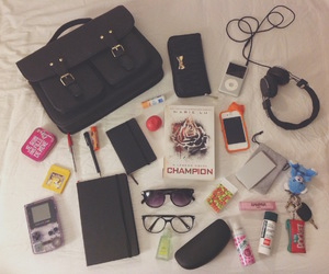beautiful, what's in my bag, and books image