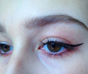 grunge, pale, and eyebrows image