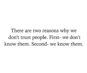 trust, quotes, and people image