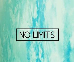 light blue, no limits, and Dream image