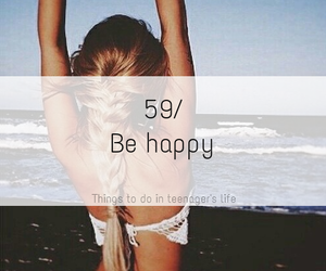 happy, be, and life image
