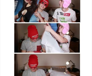 fan, Mila Kunis, and youtuber image