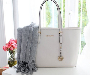 Michael Kors, bag, and fashion image