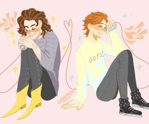 larry, louis, and stylinson image
