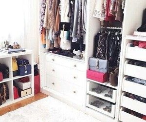 closet, clothes, and Dream image