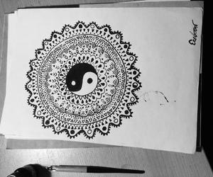 black ink, eretova, and doodles image