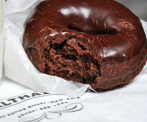 donuts, chocolate, and food image