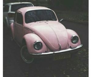 pink, car, and grunge image