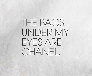 chanel, bag, and quote image