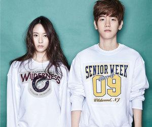 baekhyun, exo, and f(x) image