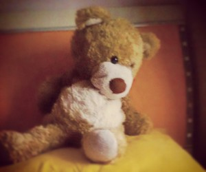 lonely and tedy bear image