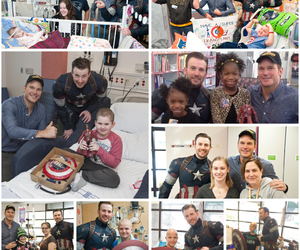 Avengers, children, and help image