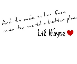 lil wayne, smile, and text image
