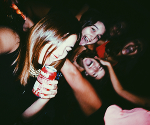 girl, drunk, and party image