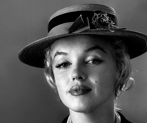 Marilyn Monroe, old, and retro image