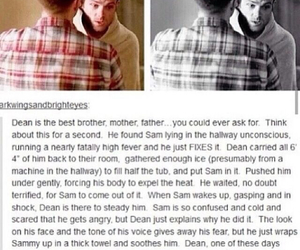 supernatural, brothers, and dean image